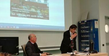 Egidio Dansero apre i lavori del seminario