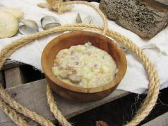 Moby Dick Clam Chowder