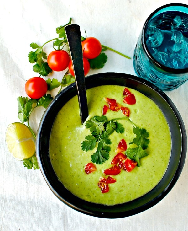Colombian Cream of Avocado Soup – lightened up and vegan ...