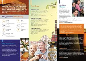 BROCHURE Food Tour In Delhi - Side 2