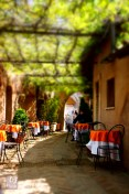 The cafe/bar at the Castel Sant'Angelo in Rome