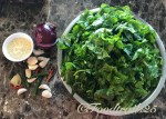 Ingredients for Saag