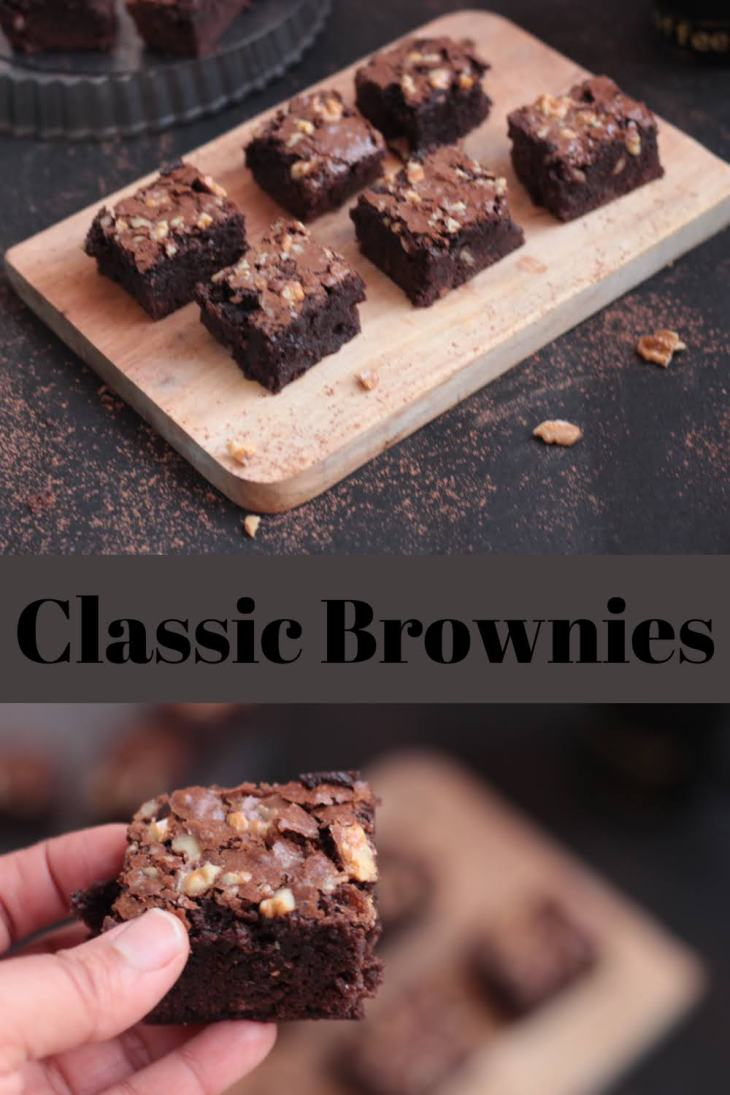 Classic Brownies-pinning image
