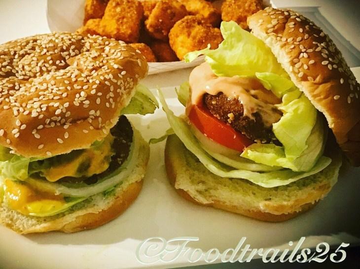 Aloo Tikki Burger