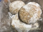 To freeze patties dust with cornstarch(cornflour), dusted with cornflour to keep away from sticking