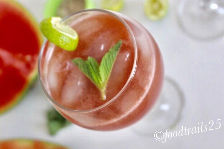 Watermelon-Mint Cooler