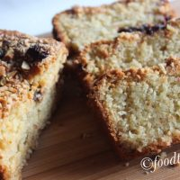 Almond Orange Cake (Eggless)