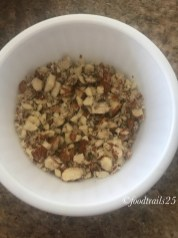 Chopped Almonds for Rice Kheer