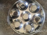 Idli tray with moulds for Idli