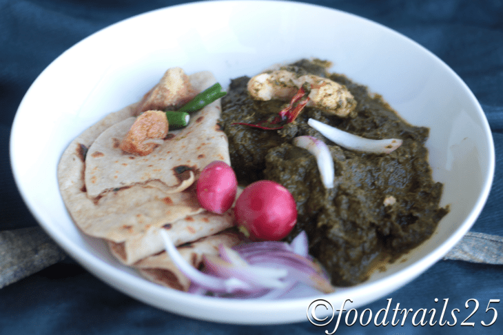 KAle and Spinach Saag Pic
