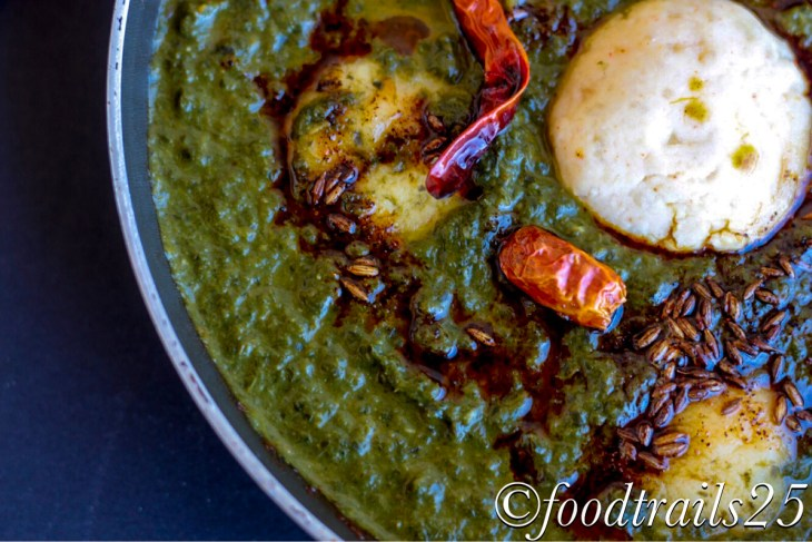 Kale and Spinach gravy