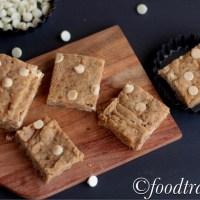 Eggless Blondies