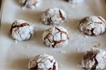 Baked Chocolate Crinkles