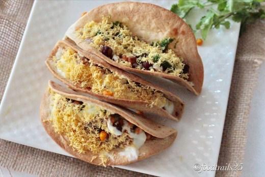 Aloo Chana Tacos