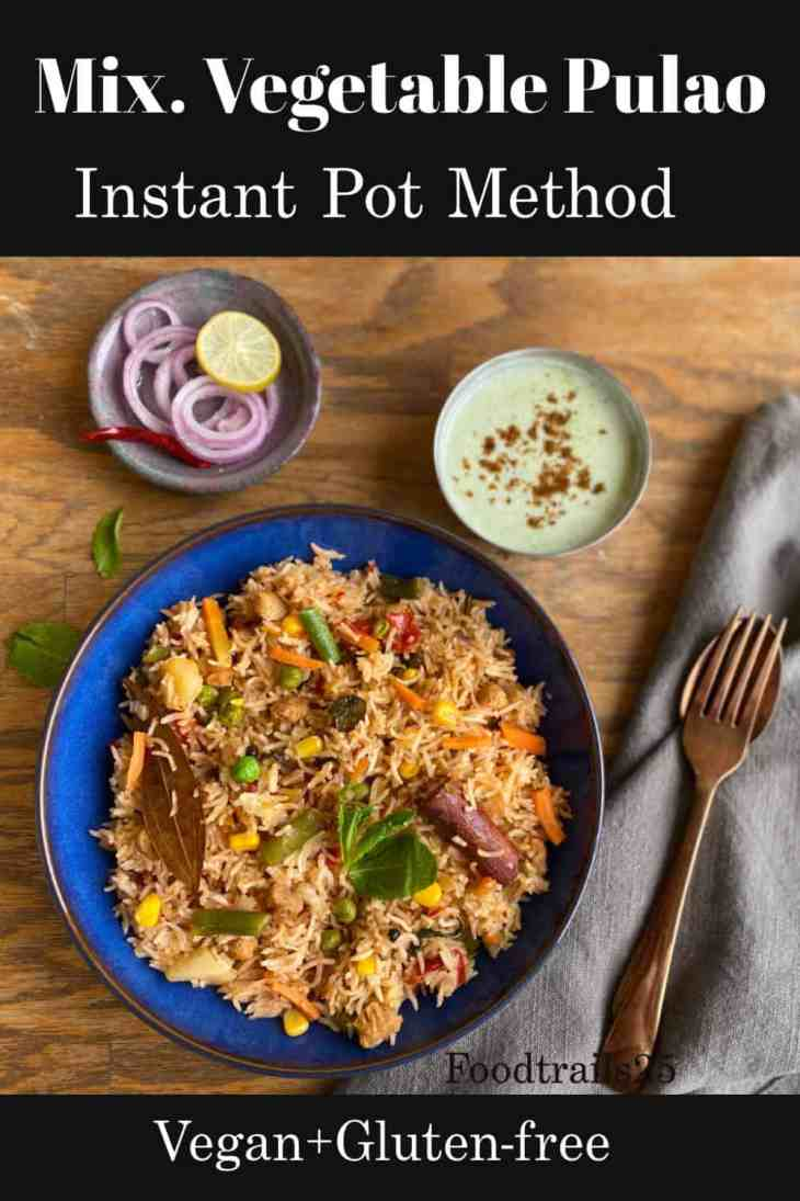 vegetarian pulao pin