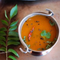 Tomato and Carrot Rasam