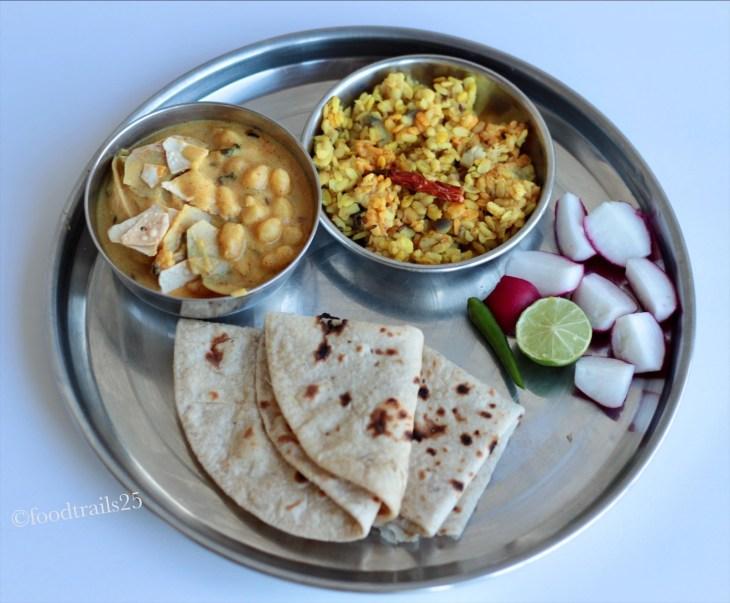 No veggie Thali