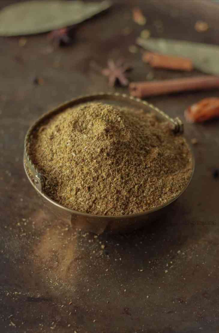 Pinning Image for Garam Masala