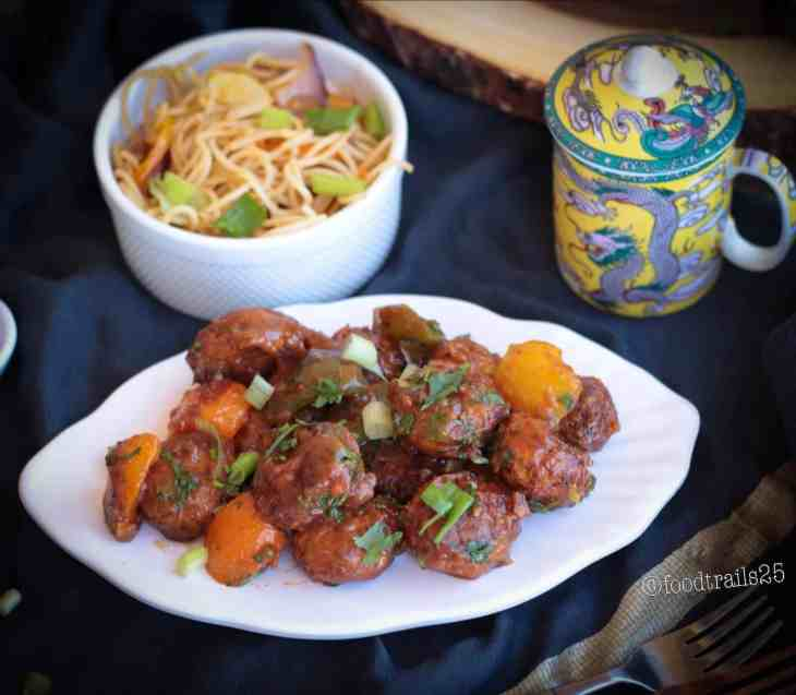 Air Fried ManchurianAir Fried Manchurian