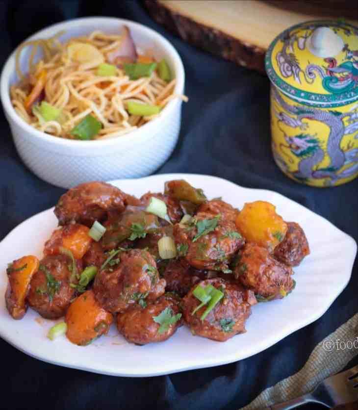 Air Fried ManchurianAir Fried Manchurian