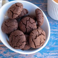 Eggless Ragi Chocolate Cookies