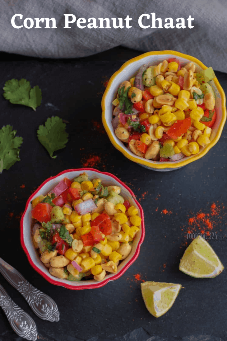 Corn Peanut Chaat Pin