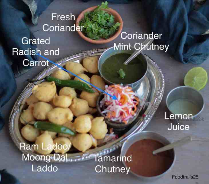 ingredients ram ladoo