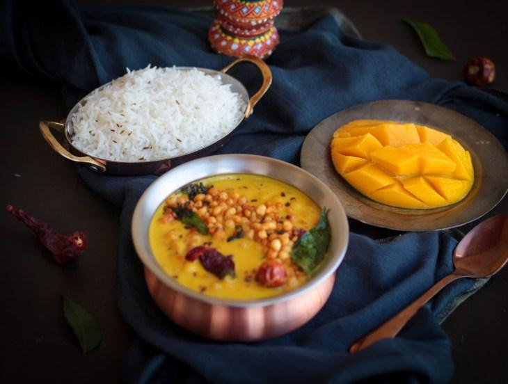 Mango KAdhi with rice