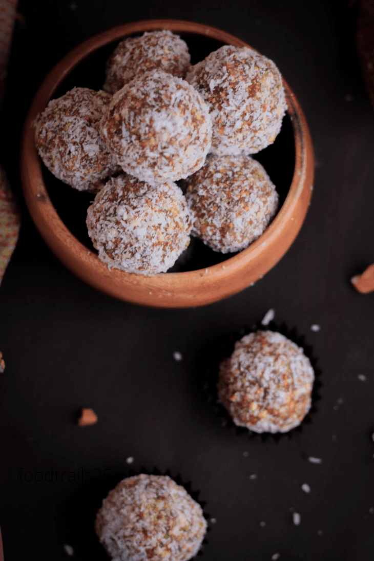 Apricot Fig and Nuts Energy Bites