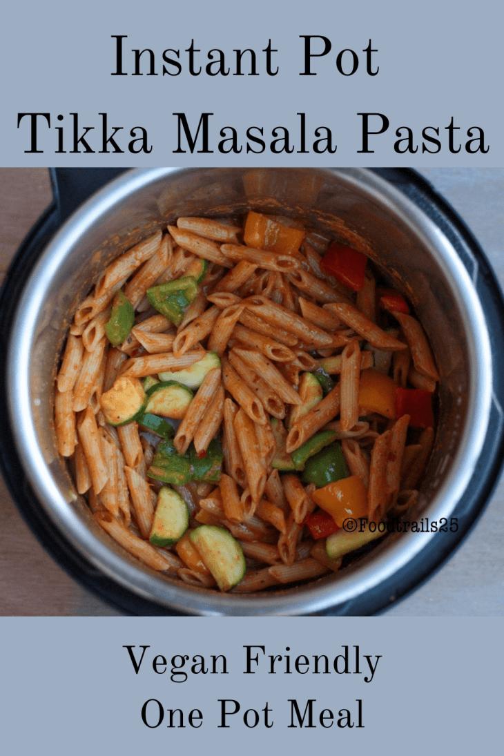 Instant Pot Tikka Masala Pasta-Pin Image