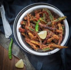 Crispy Okra/Kurkuri Bhindi