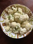 Wash and clean cauliflower florets nicely