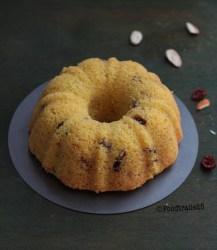Semolina Coconut Tea Cake