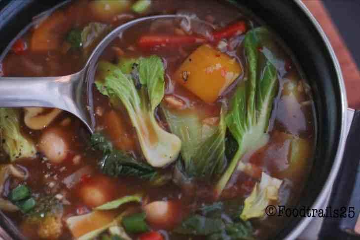 Vegetables in Hot Garlic Sauce