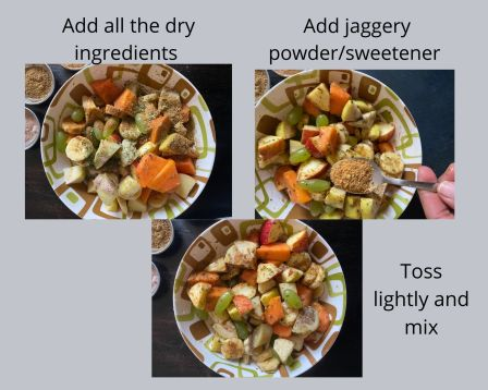 steps for fruit chaat