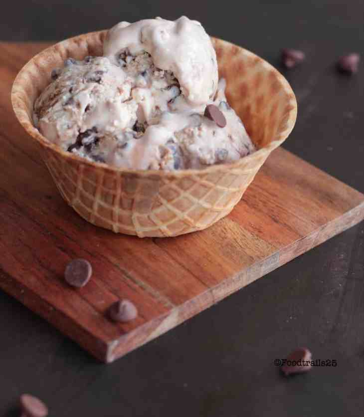 Cookie Dough Choco Chip Ice Cream