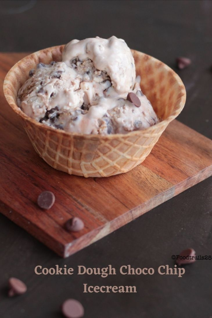 Cookie Dough Chocolate Chip Ice Cream
