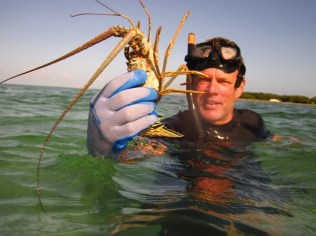 Brian lobstering