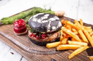 Бургер Черная Мамба Burger Heroes.