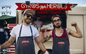 Gyros for Heroes 4.