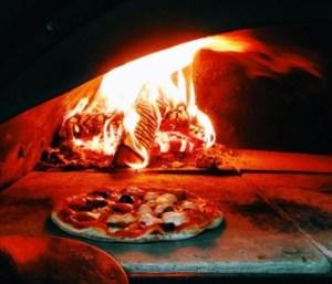 Пицца в печи naprizzepe.