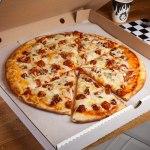 Вкусная пицца от Hells Pizza.