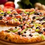 Пицца ассорти Папа Джонс.