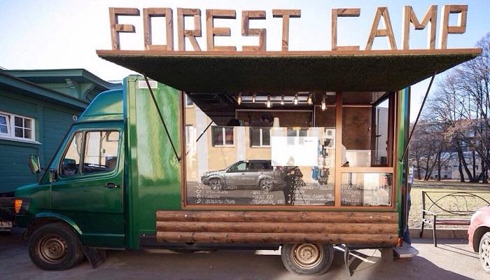 Фудтрак Forest Camp.