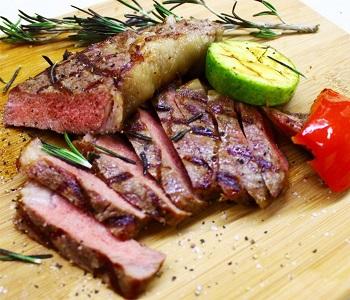 Мясо с овощами Грильешь.