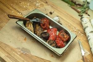 Овощи от фудтрака Горячо.