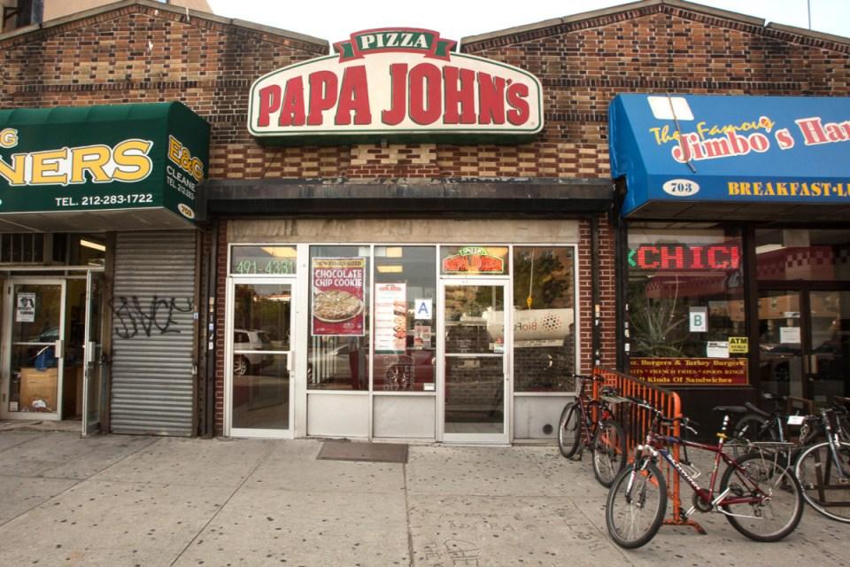 Папа Джонс пиццерия.