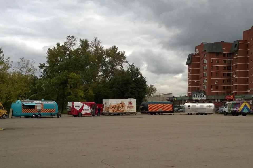 Фестиваль фудтраков 2016 в Царицыно.