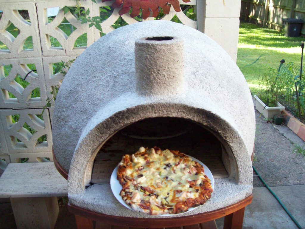 DIY Video How To Build A Backyard Wood Fire Pizza Oven Under 100