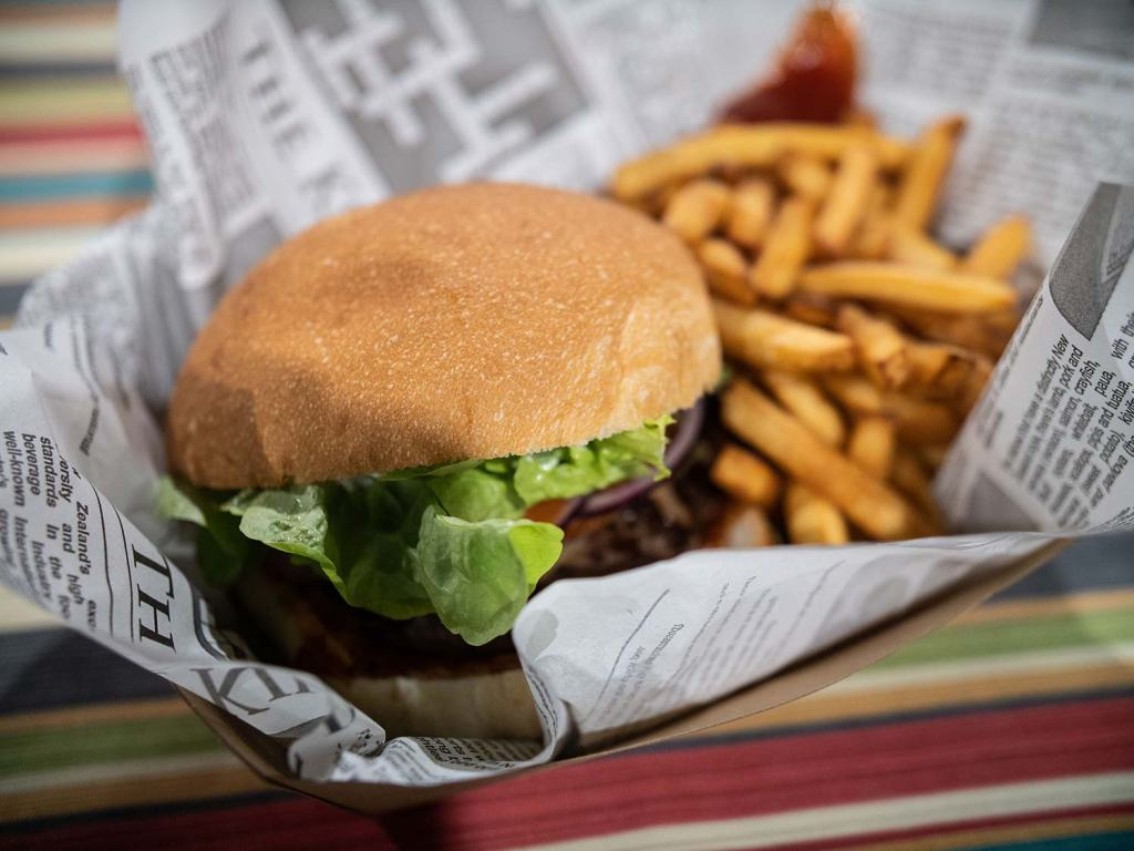 Hot burgers with Food Truck League